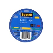 Scotch Colored Duct Tape Sea Blue 1.88 In. X 20 Yd. Roll, 6/Pack, (6PK-920-BLU-C)