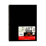 Canson Art Book One Sketch Books Wire Bound 8 1/2 In. X 11 In. 80 Sheets (100516223)