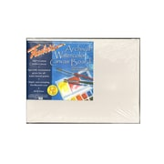 Fredrix Archival Watercolor Canvas Board 9 In. X 12 In. Each [Pack Of 2] (2PK-3440)