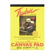 Fredrix Canvas Pads 9 In. X 12 In. (3500)