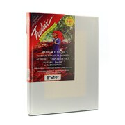 Fredrix Red Label Stretched Cotton Canvas 8 In. X 10 In. Each [Pack Of 3] (3PK-5012)