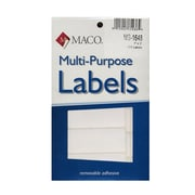 Maco Multi-Purpose Handwrite Labels Rectangular 1 In. X 3 In. Pack Of 250 [Pack Of 6] (6PK-MS-1648)