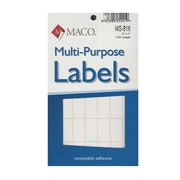 Maco Multi-Purpose Handwrite Labels Rectangular 1/2 In. X 1 In. Pack Of 1000 [Pack Of 6] (6PK-MS-816)