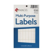 Maco Multi-Purpose Handwrite Labels Rectangular 3/8 In. X 1 1/4 In. Pack Of 1000 [Pack Of 6] (6PK-MS-620)
