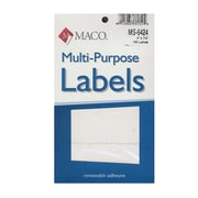 Maco Multi-Purpose Handwrite Labels Rectangular 4 In. X 1 1/2 In. Pack Of 160 [Pack Of 6] (6PK-MS-6424)