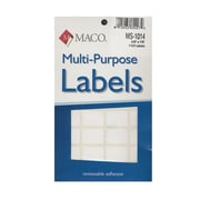 Maco Multi-Purpose Handwrite Labels Rectangular 5/8 In. X 7/8 In. Pack Of 1000 [Pack Of 6] (6PK-MS-1014)