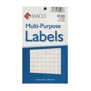 Maco Multi-Purpose Handwrite Labels Round 5/16 In. Pack Of 1000 [Pack Of 6] (6PK-MR-505)