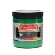 Speedball Fabric Screen Printing Ink Green 8 Oz. [Pack Of 3] (3PK-4564)