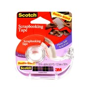 3M Double-Sided Scrapbooking Tape 1/2 In. X 8.33 Yd. Roll [Pack Of 3] (3PK-002)