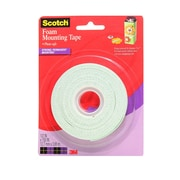 3M Foam Mounting Tape 1/2 In. X 150 In. Roll [Pack Of 3] (3PK-4013)