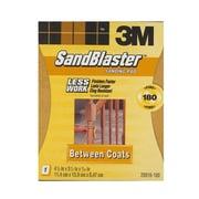 3M Sandblaster Sanding Pads Or Standing Sponges 180 Grit Sanding Pad [Pack Of 4] (4PK-20916-180)