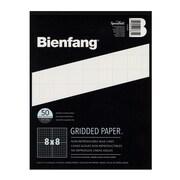 Bienfang Gridded Paper 8 X 8 8 1/2 In. X 11 In. Pad Of 50 [Pack Of 3] (3PK-910591)