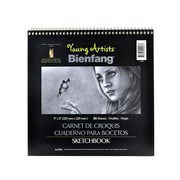 Bienfang Young Artists Sketchbooks 9 In. X 9 In. 50 Sheets [Pack Of 6] (6PK-220003)