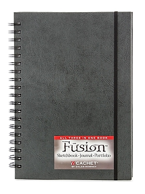 Cachet Fusion Sketch Journal Folio 7 In. X 10 In. Black (466206710)