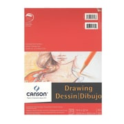 Canson Foundation Drawing Pad 9 In. X 12 In. [Pack Of 4] (4PK-100510978)