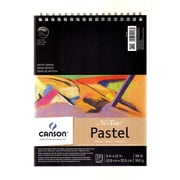 Canson Mi-Teintes Pastel Pad With Interleavings White 9 In. X 12 In. (100510867)