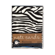 Canvas Corp Packaged Cards And Envelopes Note Cards With Envelope Black & White  4 In. X 5 1/2 In. 4/Pack, (4PK-CDS1827)