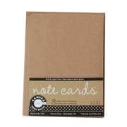 Canvas Corp Packaged Cards And Envelopes Note Cards With Envelope Kraft 4 In. X 5 1/2 In. Pack Of 8 [Pack Of 4] (4PK-CDS1039)