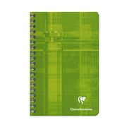 Clairefontaine Classic Wirebound Notebooks 4 1/4 In. X 6 3/4 In. Ruled 90 Sheets [Pack Of 5] (5PK-8606)