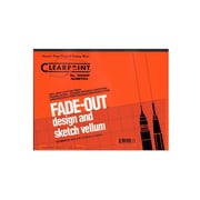 Clearprint Fade-Out Design And Sketch Vellum - Isometric 8 1/2 In. X 11 In. (10005410)