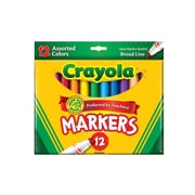 Crayola Assorted Colors Marker Sets Broad Box Of 12 [Pack Of 4] (4PK-58-7712)