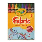 Crayola Fabric Crayons Box Of 8 [Pack Of 8] (8PK-52-5009)
