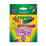 Crayola Short Colored Pencils Set Of 12 [Pack Of 12] (12PK-68-4112)