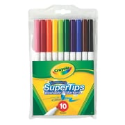 Crayola Super Tip Fineline Marker Set Set Of 10 [Pack Of 12] (12PK-58-8610)