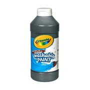 Crayola Washable Paint Black [Pack Of 4] (4PK-54-2016-051)
