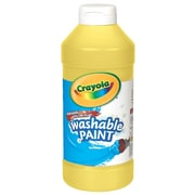 Crayola Washable Paint Yellow [Pack Of 4] (4PK-54-2016-034)