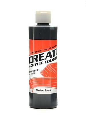 Createx Acrylic Colors Carbon Black 8 Oz. [Pack Of 3] (3PK-2015-08) 2135719