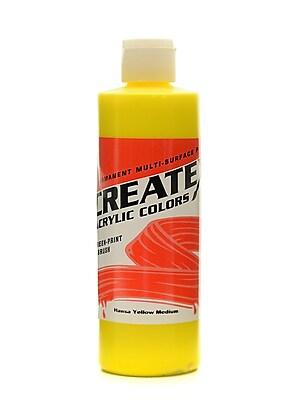 Createx Acrylic Colors Hansa Yellow Medium 8 Oz. [Pack Of 3] (3PK-2002-08) 2135753