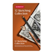 Derwent Sketching Pencil Collections Tin Of 12 (34305)