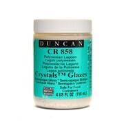 Duncan Crackle  And  Crystal Glazes Polynesian Lagoon Cr858 4 Oz. [Pack Of 3] (3PK-CR858-4 27143)