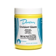 Duncan Envision Glazes Sun Yellow Opaque 4 Oz. [Pack Of 4] (4PK-IN1670-4 26997)
