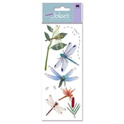 Ek Success A Touch Of Jolee'S Dimensional Stickers Dragonflies Pack Of 8 [Pack Of 6] (6PK-358716/SPJJ156)