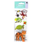 Ek Success A Touch Of Jolee'S Dimensional Stickers Jungle Animals Pack Of 6 [Pack Of 6] (6PK-396084/SPJJ204)