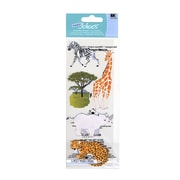 Ek Success A Touch Of Jolee'S Dimensional Stickers Safari Animals Pack Of 5 [Pack Of 6] (6PK-396079/SPJJ205)
