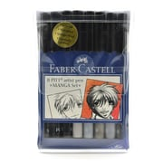 Faber-Castell Manga Pen Sets Manga Basic Set Of 8 (167107)