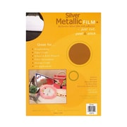 Grafix Metallic Film Silver [Pack Of 3] (3PK-KSP3)