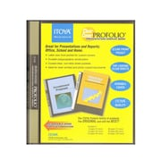 Itoya Clear Cover Profolio Presentation Books 48 Pages (96 Views) [Pack Of 2] (2PK-CC-48)