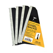 Lineco Self Stick Easel Backs Black 7 In. Pack Of 5 [Pack Of 3] (3PK-328-3307)