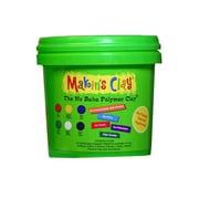 Makin'S Usa No Bake Polymer Clay 5 Lb. Multi Color (33051)