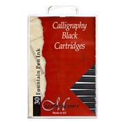 Manuscript Calligraphy Ink Cartridges Black Pack Of 30 [Pack Of 5] (PK5-MC0401CB)