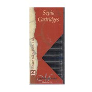 Manuscript Calligraphy Ink Cartridges Sepia Pack Of 12 [Pack Of 6] (PK6-MC0461SP)