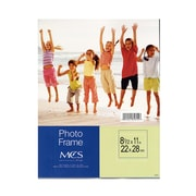 Mcs Clear Acrylic Frames 8.5 In. X 11 In. Single Vertical [Pack Of 3] (3PK-31815)