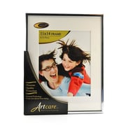 Nielsen Bainbridge Studio Collection Silver Metal Picture Frame 11 In. X 14 In. 8 In. X 10 In. Opening (FA13-01)