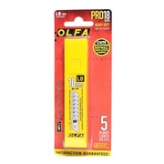 Olfa Utility Cutter Replacement Blades Lb-5B Pack Of 5 [Pack Of 4] (4PK-1092625)