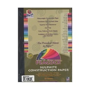 Pacon Peacock Construction Paper Assorted 9 In. X 12 In. [Pack Of 4] (4PK-P6509)