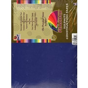 Pacon Peacock Construction Paper Dark Blue 12 In. X 18 In. [Pack Of 2] (2PK-P7312)